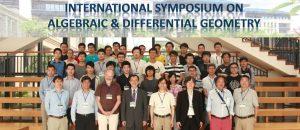 2015 International Symposium on Algebraic and Differential Geometry